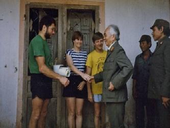 Cuộc gặp  gỡ của Đại tướng Võ nguyên Giáp với chuyên gia hang động